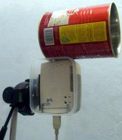 Jangan buang kaleng di rumah Anda. Daur ulang sebagaiantena wireless ...